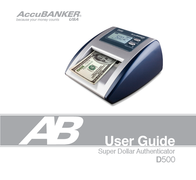 AccuBANKER D500 User Manual