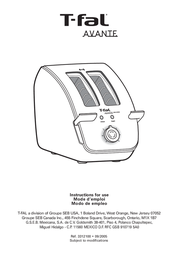 T-Fal 8749002 Instruction Manual