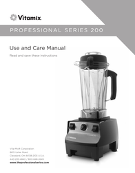 Vitamix professional 200 User Guide