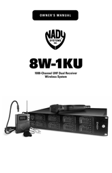 Nady Systems Turntable SW-1KU User Manual