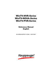 Hauppauge WinTV-NOVA-T-Stick 00208 User Manual