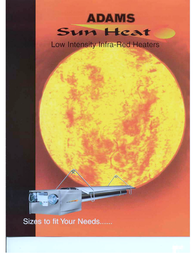 Adams Infra-Red Heater User Manual