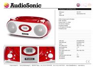 AudioSonic CD-1577 User Manual