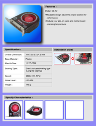 EverCool Fox-2 SB-F2 Leaflet