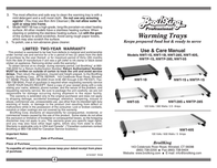 Broil King NWT-1B Leaflet