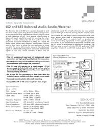 Sonance LR2 Leaflet