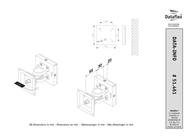 Dataflex ViewMate Monitor Arm 461 51.461 Leaflet