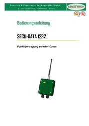Secutech Radio modules ST002010 データシート