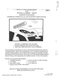 Dodge 118127X User Manual