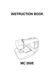 Janome MC 200E User Manual
