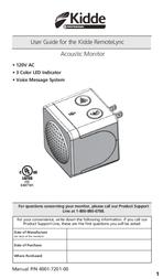Kidde 21026465 User Manual