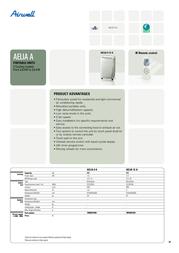Airwell AELIA 12 A 7MB021051 Leaflet