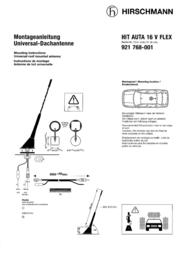 Hirschmann Car Communication HIRSCHMANN HIT AUTA 16 V FLEX 921768-001 Leaflet