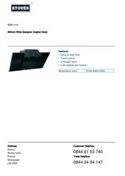 Stoves 900K-Line 444447261 Leaflet