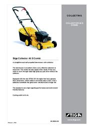 Stiga COLLECTOR 46 S COMBI Leaflet