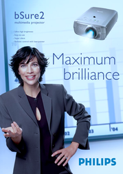 Philips bSure XG2-Brilliance LC3146/40 Leaflet