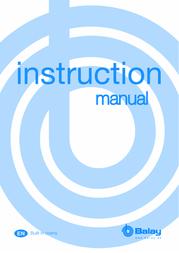 Balay 3hb559bp User Manual