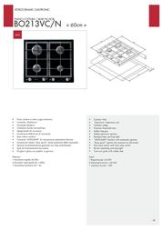 Bompani BO213VC/N Leaflet