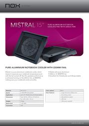 NOX Mistral 15.4 NOXMISTRAL Leaflet