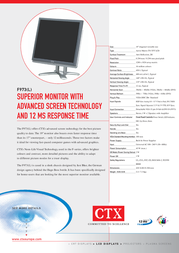 CTX F973 Leaflet