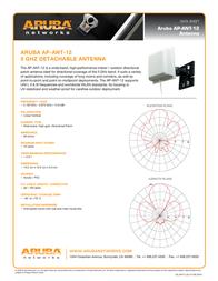 Aruba AP-ANT-12 Data Sheet