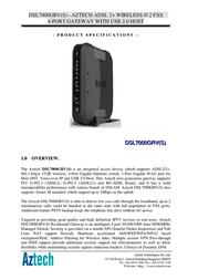 Aztech DSL7000GRV(S) Product Datasheet