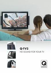 Q Acoustics Q-TV2 QA7005 User Manual