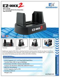 Kingwin EZ-dock 2 EZD-2536 Leaflet