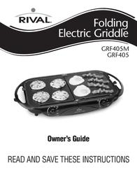 Rival GRF405M User Manual