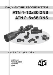 ATN American Technologies Network Hunting Equipment 2-6x65 DNS User Manual