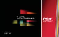 Vivitar Camera Flash VIV-DF-183 User Manual