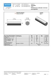 Standexmeder Electronics (Ø x L) 7.5 mm x 27 mm 4003004006 Data Sheet