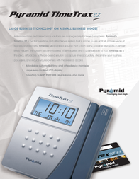 Pyramid Time Systems TTEZ Leaflet