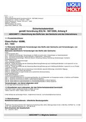 Liqui Moly 1533 600 ml 1533 Data Sheet