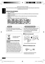 JVC KD-G343 User Manual - Page 1 of 22 | Manualsbrain.comManuals Brain