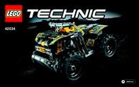 Lego Technic LEGO® TECHNIC 42034 ACTION QUAD 42034 User Manual