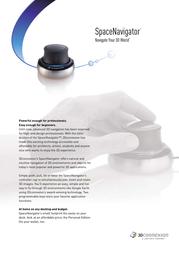 3Dconnexion 3DX-700034 Leaflet