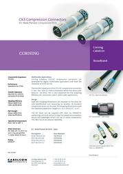 Cablecon 99909496 Leaflet