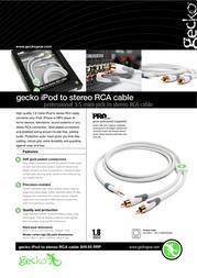 Gecko GG100017 Leaflet