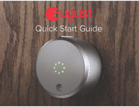 August Smart Lock HomeKit™ Edition Owner's Manual