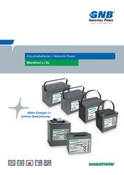Gnb Marathon XL12V85, 12V Ah lead acid battery NAXL120085HM0FA NAXL120085HM0FA Data Sheet
