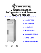 Victory Refrigeration V-Series User Manual - Page 1 of 42 | Manualsbrain.comManuals Brain