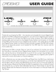 Tempo FB4 Leaflet