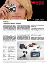 Minox 60662 Leaflet