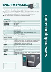 Metapace L-3 META-L3 Leaflet