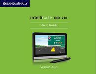 Rand McNally tnd-710 User Guide