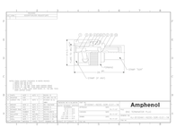 Amphenol RG 58 male Terminator - 50 Ohm B1004A1-ND3G-50 Data Sheet