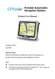 Holux gpsmile52 User Manual