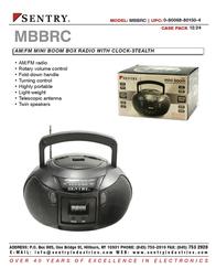 Sentry MBBRC Leaflet