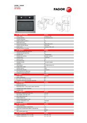 Fagor 6H-185A X Leaflet